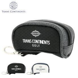 トランスコンチネンツ ゴルフ ボールポーチ メンズ TOBP-910 TRANS CONTINENTS | [即日発送]