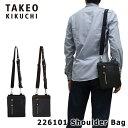 タケオキクチ ショルダーバッグ 226101 【 メンズ 】【 ドライ 】【 ポーチ 】【 TAKEO KIKUCHI キクチタケオ 】