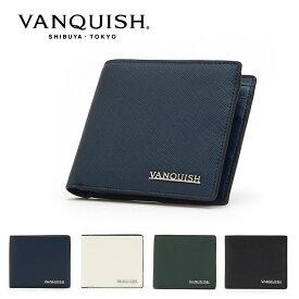 ヴァンキッシュ 二つ折り財布 ルヴィド VQM-40350 VANQUISH ウォレット メンズ[PO10][bef]
