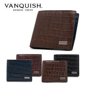 ヴァンキッシュ 二つ折り財布 レプティル VQM-40490 VANQUISH ウォレット メンズ[PO10][bef]