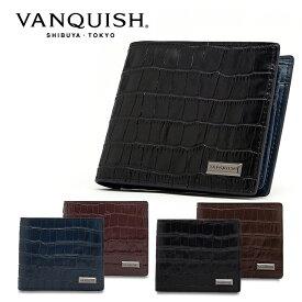 ヴァンキッシュ 二つ折り財布 レプティル VQM-40500 VANQUISH ウォレット メンズ[PO10][bef]