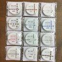 NEW☆BGM/ビージーエム マスキングテープセット 箔押し記号 5mm 12個セット/スクエア青・三角グリーンなど