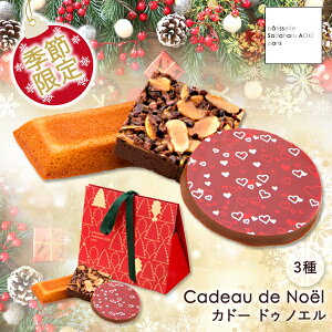 【公式】パティスリー・サダハル・アオキ・パリ カドー ドゥ ノエル ギフト お菓子 焼き菓子 手提げ袋付き プレゼント お歳暮 御歳暮 クリスマス