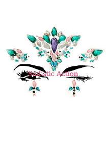 【即納】Leg Avenue Aria adhesive face jewels sticker. 【Leg Avenue (ストッキング、ランジェリー、衣装、コスチューム、小物)】【コスチュームアクセサリー】【その他】【LEG-ACC-EYE007】