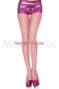 【即納】MUSIC LEGS Mini diamond net spandex pantyhose 【コスチュームアクセサリー】【MUSIC LEGS (ストッキング、ランジェリー、コスチューム)】【パンティホース】【ML-HO-9030-N.PI】