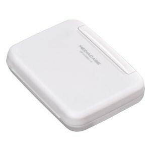 【ネコポス便対応商品】ハクバ ポータブルメディアケース W CFカード用 ホワイト
