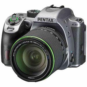 ペンタックス(PENTAX) K-70 18-135WR レンズキット シルキーシルバー