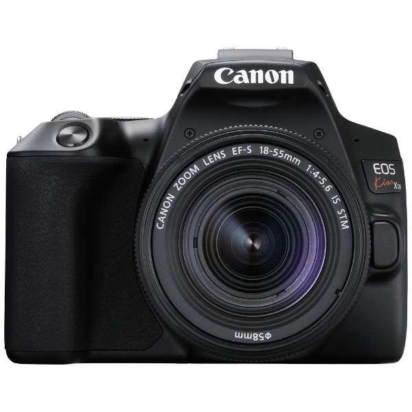 【2019年4月25日発売予定】キヤノン(Canon) EOS Kiss X10 EF-S18-55 IS STM レンズキット ブラック