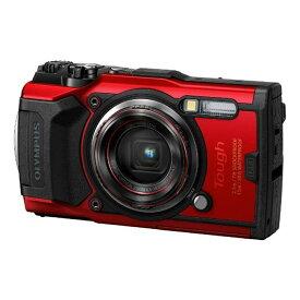 【2019年7月26日発売予定】オリンパス(Olympus) 防水デジタルカメラ Tough TG-6 RED レッド