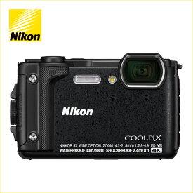 ニコン(Nikon) デジタルカメラ COOLPIX W300(クールピクス W300) ブラック