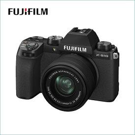 【2020年11月19日発売】 フジフイルム(FUJIFILM) ミラーレス一眼 X-S10 ボディ ブラック(写真のレンズは付属していません)