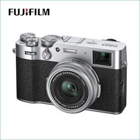 フジフイルム(FUJIFILM) レンズ一体型コンパクトデジタルカメラ X-100V シルバー F X100V-S