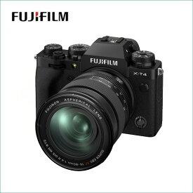 フジフイルム(FUJIFILM) ミラーレス一眼 X-T4レンズキット XF16-80mm F4 R OIS WR ブラック