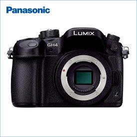 パナソニック(Panasonic) LUMIX(ルミックス) DMC-GH4-K ボディのみ(レンズ別売) ブラック