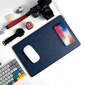 最大10W 急速充電 Qi対応 ワイヤレス充電機能付きマウスパッド 充電マウスパッド ワイヤレス充電対応端末 スマホ 充電器 高速充電 スマホグッズ 充電器 iphone ワイヤレス LED iPhoneX iPhone8