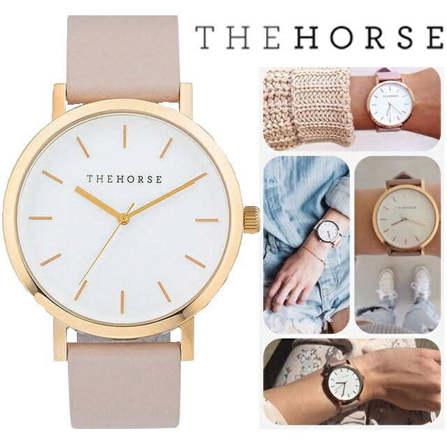 \日本新発売/The Horse(ザ・ホース) SNSで人気 ペアウォッチ ユニセックス 本革時計 レディース時計 メンズ時計 プレゼント時計 ブランド時計 女性時計 並行輸入 正規品
