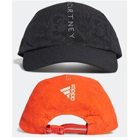 adidas アディダス adidas by Stella McCartney RUN キャップ 帽子 ステラマッカートニーシリーズ キャップ 帽子 ロゴ logo レディース メンズ ユニセックス ペア お揃い ブランドキャップ ロゴキャップ ブラック 刺繍
