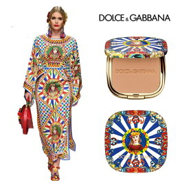 Dolce & Gabbana ドルチェ&ガッバーナ ビューティー ファンデーション コスメ シェーディング 新作 コレクションカラーパウダー SOLAR GLOW ウルトラライトブロンズパウダー