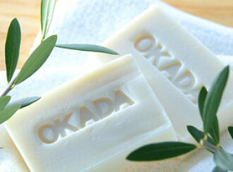 Additive-free soap ☆ Okada soap (belonging to 100 g of nets) price 1,800 yen (税抜)