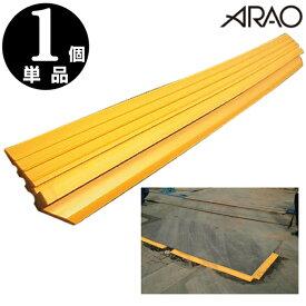 敷き鉄板用 段差スロープ 155W×1500L 駐車場 段差プレート