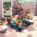 園芸シート植え替えシートガーデニング用保護シートサニーシートMEG-02