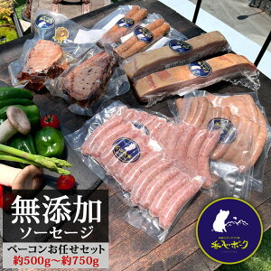 お中元 ギフト ソーセージ 詰め合わせ 無添加 香心ポーク 詰め合わせセット おまかせ5品 ギフトセット 加工品詰め合わせ 熊本 阿蘇 高級 豚肉