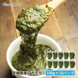 !Nothing addition, no coloration dirt sargasso (ぎばさ) 100 g *10 pack from Minamisanriku, Miyagi