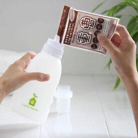 【LINEでクーポン】 詰め替え ボトル 洗剤入れ「ロッタホーム 詰め替えボトル(500ml)」【LOTTA HOME 詰め替え ボトル 容器 白 詰め替え容器 おうち とり はな】