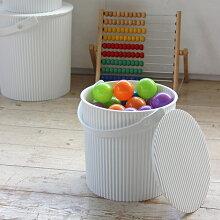 「オムニウッティニュートラルL」全3色【洗濯かご洗濯カゴバルコロールm収納ボックスおしゃれ収納カゴバスケット収納かごbalcoloreモノトーン】