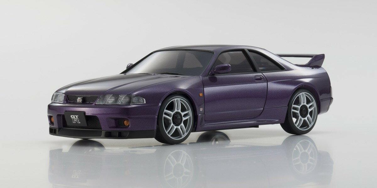 京商 ミニッツレーサー オートスケールコレクション  日産スカイライン GT-R R33 Vスペック ミッドナイトパープル