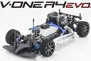 京商 1/10ハイエンドエンジンツーリングカー V-ONE R4 Evo. 組み立てキット