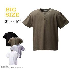 Tシャツ メンズ サーマルネック 半袖T 男 かっこいい 服 C010204-09