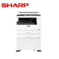 【新品】シャープ A3 モノクロ 複合機・コピー機 ECOLUTION AR-N182G 2段給紙+専用台モデル
