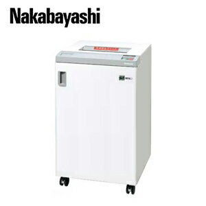 【サービス特集認定商品】【新品・リースOK】ナカバヤシ オフィスシュレッダー NX-506SPH