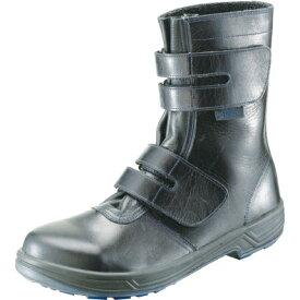 マジック型安全靴 長靴型 本革仕様 シモン製 正規品 品番8538 #8538 本皮の通気性と耐久性(丈夫で長持ち)はき心地も極上です 靴底もクッション付きで疲れない ※大ヒット商品です!