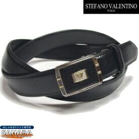 【お買得 ベルト メンズ 本革 ビジネス】 ビジネス メンズ ベルト 自由な留め位置で着用 フィット バックル (無段階調整タイプ) STEFANO VALENTINO ITALIA ベルト ビジネス メンズ(1) 100cmまで対応タイプ ブランド 5と0のつく日は楽天カードポイント5倍