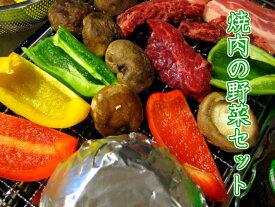 バーベキュー野菜セット 焼肉のおとも野菜 バーベキュー に♪ キャンプ に♪B.B.Q!!BBQ!!!★焼き肉!!