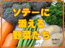 ソテーに添える野菜たち