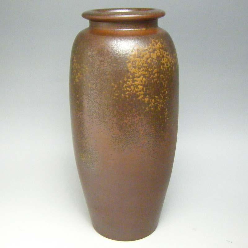 花瓶 花器 備前焼 尺切止形 花入