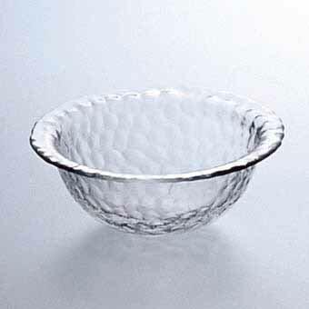 中鉢 サラダボウル ガラス製ガラスリム付ボール(スキ)