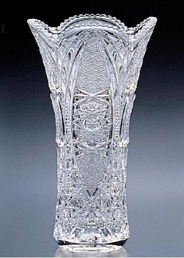 花瓶 フラワーベース 花入 アデリア クリスタル 花器 アウトゥーレ(L)