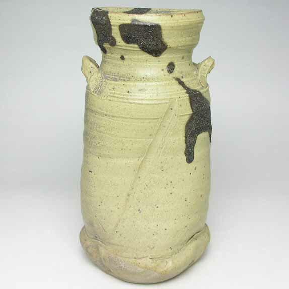 花瓶 花器 フラワーベース 河本五郎 作 花入(花瓶)