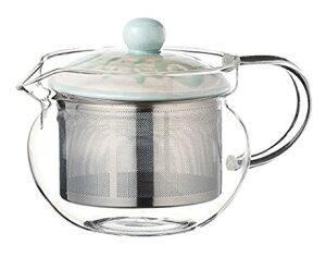 スーパーステンレス茶こし 急須 波佐見焼 ガーデン SSポット EG (ガラス) 約375ml 210g As115-12734耐熱ガラス おしゃれ 日本製 ギフト 贈り物 贈答品