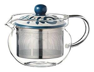 スーパーステンレス茶こし 急須 波佐見焼 ガーデン SSポット PC (ガラス) 約375ml 210g As115-12733耐熱ガラス おしゃれ 日本製 ギフト 贈り物 贈答品