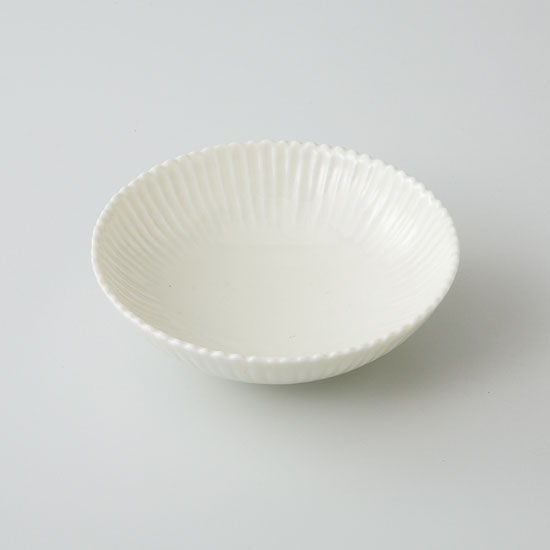 中鉢 小鉢 和皿 波佐見焼 菊花 取皿(黄釉)(saiky-j46-11590)