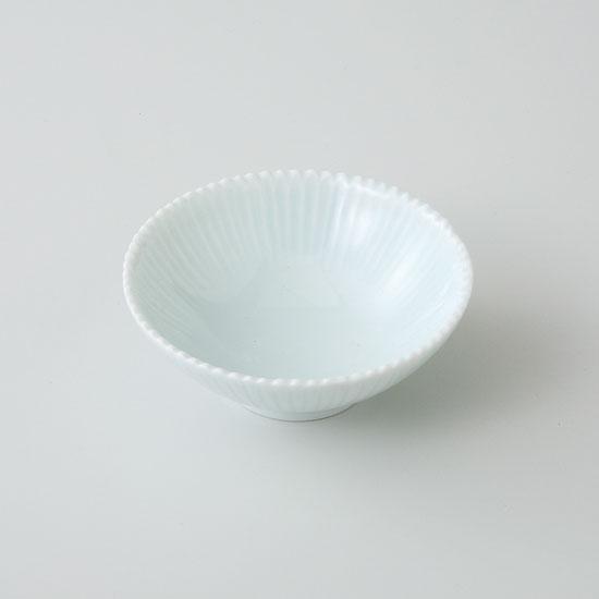 和皿 波佐見焼 菊花 小皿(青磁)(saiky-j46-11584)