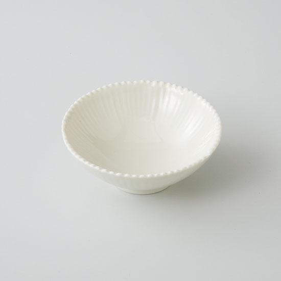 小鉢 和皿 波佐見焼 菊花 小皿(黄釉)(saiky-j46-11592)