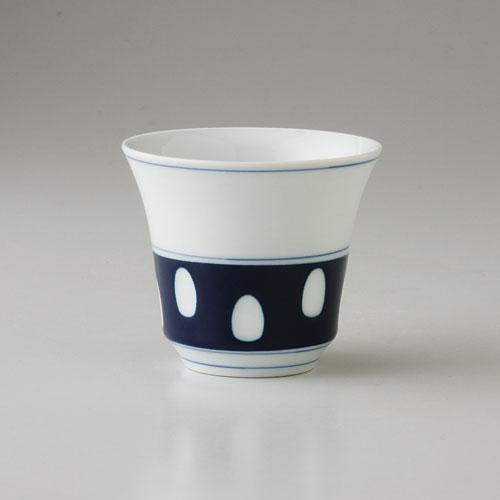 湯呑み ゆのみ 湯呑 有田焼 水玉 中仙茶(saiky-j25-62499)