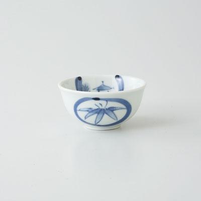 杯 ぐい呑 酒器 波佐見焼 丸紋山水 丸盃 (saiky-j39-64355)