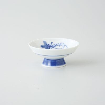 杯 盃 ぐい呑 酒器 波佐見焼 根引松 平盃 (saiky-j39-72735)